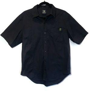 🍁 MONSTER ENERGY Button Front Short Sleeve Shirt